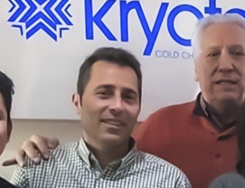 Visita de la empresa LogTag a las oficinas de Kryotec