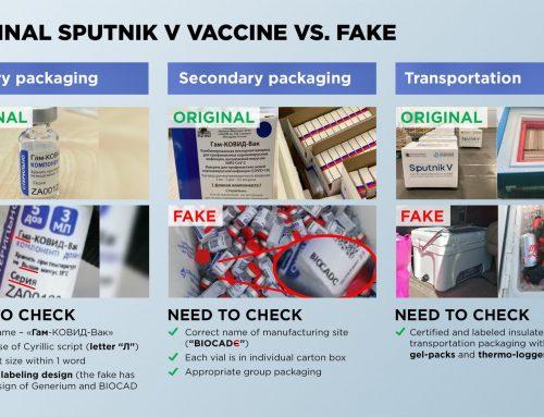 Cómo identificar las vacunas falsas de Pfizer y Sputnik V que se comercializan en México